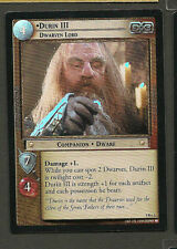Lord Of The Rings TCG Foil Card 9R+3 DURIN III DWARVEN LORD