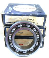 HOOVER NSK BALL AND ROLLER BEARINGS 6006CE, 30 X 55 X 13 MM, LOT OF 3
