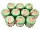 LOT 10 BALLS JADE GREEN #8 PERLE/PEARL COTTON THREADS CROCHET HAND EMBROIDERY