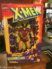 "1996 Toy Biz Marvel X-Men 10"" Inch Figure Doll MIB - WOLVERINE CLASSIC BROWN"