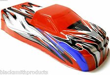 BSP-BNT-4 1/10 Scale RC Nitro Monster Truck Body Shell Cover Red