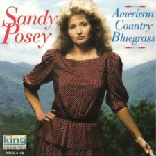 Sandy Posey - American Country Bluegrass [New CD]