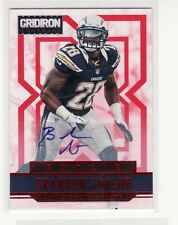 BRANDON TAYLOR  CERTIFIED AUTOGRAPHED SAN DIEGO CHARGERS ROOKIE FOOTBALL CARD