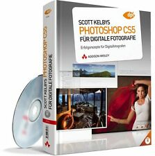 Scott Kelby Photoshop CS5 für digitale Fotografie, mit DVD, Addison-Wesley, NEU