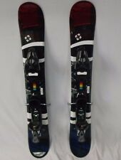 Five Forty New 90cm Ski Blades, WIDE, with New Salomon 609 Demo Bindings