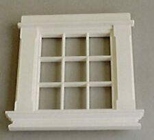 Georgian 9 Pane Window, Dolls House Miniatures, 1.12 Scale DIY Accessory