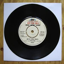 """EAGLES One Of These Nights / Visions FACTORY SAMPLE ASYLUM UK 7"""" 45"""