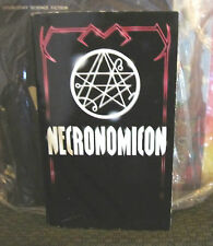 necronomicon by simon pb 1980 avon first 1st lovecraft burroughs satan cthulhu!!