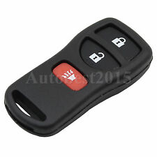 3 Button Remote Key Shell Case Fob For Nissan Quest Titan Xterra Pathfinder