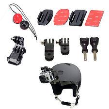 Accessories For Gopro Hero1,2,3,3+ Adhesive Helmet J-Hook Buckle Front Mount Kit