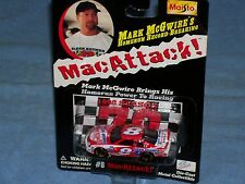 1998 Tribute to Mark McGwire-CLEAN SHOWER-MAC ATTACK-Bobby Hillin Jr. 1/64 scale