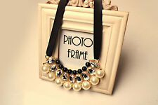 Allure Tags -  Pearl Necklace Simple RomanticCollar Statement Necklace