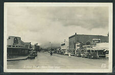 WA North Bend RPPC 40's' STREET Thompson's Cafe BELLINGER'S BAKERY by Ellis 3100