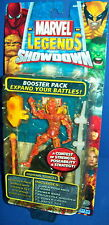 MARVEL LEGENDS SHOWDOWN figure HUMAN TORCH booster pack 2006 NEW