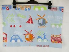 Transport Blue Children -Duvet Quilt Cover and Pillow Set-Toddler Bed? Fabric