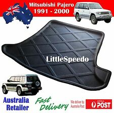 Mitsubishi Pajero 1991 - 2000 3D Boot liner Cargo Mat Tray Rear Trunk Protector