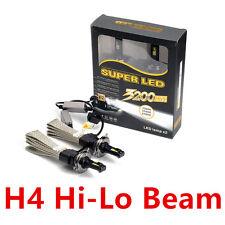 2Pc H4 HB2 9003 Hi/Lo Car LED Cree Headlight Conversion Kit  Fanless 6000K White