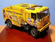 The Paris Dakar Rally Tatra_815 racing Truck car Papler Model Do It Yourself DIY
