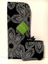 Vera Bradley BLANCO BOUQUET CURLING & FLAT IRON COVER JEWELRY CASE Cosmetic NWT