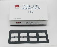 DENTAL UNIVERSAL X-RAY FILM MOUNT FRAMES SIZE #2 - CLIP ON 8 SLOT 100 PC/BOX