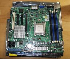 SuperMicro H8SCM-F Socket C32 AMD Opteron  AMD 2.0GHz 8 CORES CPU with Heat Sink