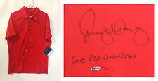 Rory McIlroy signed Oakley golf shirt INS 2012 PGA Champion MINT auto UDA COA LE