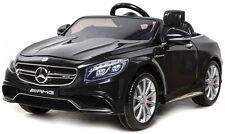 Mercedes-Benz Coupe S63 AMG Electric Kids Ride On Car Black Genuine Best Gift