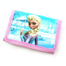 Free ship 1pcs Frozen Elsa Children Cartoon Purses Wallets bags Birthday Gifts