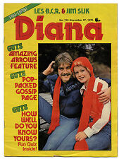 DIANA Magazine No 719 27/11/1976 Bay City Rollers Queen Abba Dr Hook Kiki Dee
