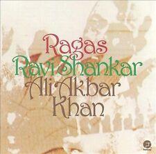 Ragas by Ali Akbar Khan/Ravi Shankar (CD, Jul-1990, Fantasy)
