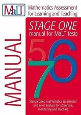 MaLT Stage One (Tests 5-7) Manual (Mathematics Assessment for Learning and Teach
