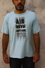 NIKE AIR REVOLUTION VINTAGE 90s TEE SKY Emerald Green  T-SHIRT TOP M MEDIUM