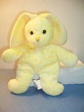 MY FIRST EASTER BUNNY YELLOW WITH WHITE DOTS - WALMART - EX. C