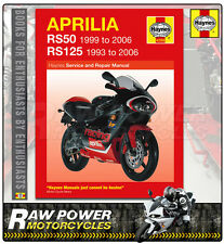 Aprilia RS50 (99 - 05) & RS125 (93 - 05) Haynes Manual (4298)
