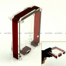 New Enclosure Computer Box For Arduino UNO R3 Acrylic Case Shell Transparent Red