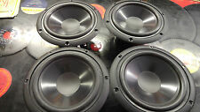 """Peerless 239006  6.5"""" poly cone midbass woofers shielded  4 ohm NOS 4 available"""