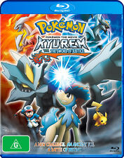Pokemon The Movie - Kyurem Vs. The Sword Of Justice (Blu-ray, 2013) Region B