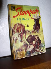 Stampede by E. B. Mann (Dell #333,1934, Paperback)