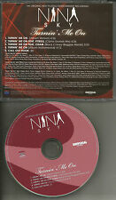 NINA SKY w/ PITBULL & CHAM Turning me On 2 REMIXES& INSTRUMENTAL PROMO CD Single