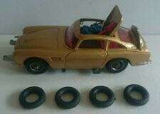 Corgi James Bond 261 Aston Martin - 4 Tyres - Original 1960's - MINT