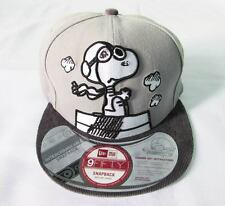 NEW ERA CAP HAT 9FIFTY THE SNOOPY RED BARON PEANUTS COMICS INTERCHANGEABLE
