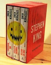 STEPHEN KING MR MERCEDES FINDERS KEEPERS END OF WATCH 1st EDITION 2 SIGNED NEW