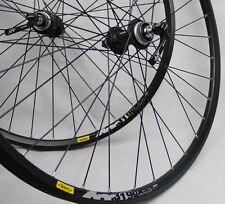 Mavic 319 SHIMANO DEORE XT  CENTER LOCK HUBS Disc wheelset WHEEL SET MTB 26""