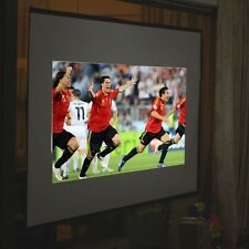 "100"" inch Foldable Projector Screen Home Projection Cinema 16:9 Fabric Theater"
