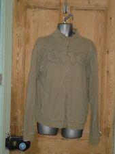 Bench Grey Full Zip Long Sleeved Top / Sweatshirt- Size XL