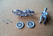 Dinky/Morestone  Motorbike and Rider  White Metal  Kit