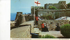 Postcard Channel Islands  Guernsey  Castle Cornet St Peter Port unposted  Hinde