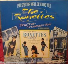 """THE RONETTES~ """"WALL OF SOUND Vol.1~""""NEAR MINT""""~UK-LP!!!"""