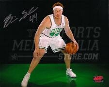 Brian Scalabrine Boston Celtics Signed Autographed Portrait Green Floor 8x10