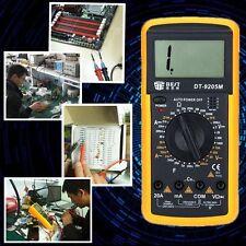 Polimetro Capací/Voltí/Amperimetro Multímetro Digital LCD AC/DC DT9205A D0113